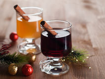 Mulled wine or cider Royalty Free Stock Image
