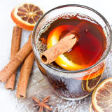 Mulled wine Stock Image