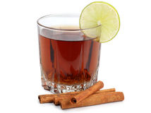 Mulled wine in cup Royalty Free Stock Photography