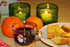 Mulled wine evening Stock Photography