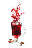 Mulled wine flavor Stock Photo