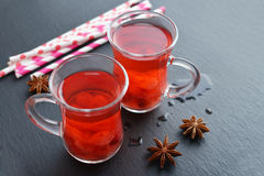 Mulled wine with fresh cranberry Royalty Free Stock Image