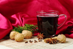Mulled Wine (Gluehwein) Stock Photos