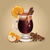 Mulled wine 2 Royalty Free Stock Image