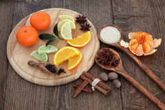 Mulled Wine Ingredients Stock Photos