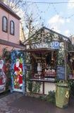 Mulled Wine Kiosk Stock Photo