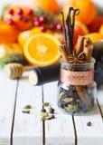 Mulled wine kit Stock Image