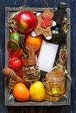 Mulled wine kit Stock Photos