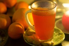 Christmas mulled wine Stock Photography