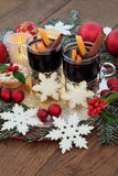 Mulled Wine Still Life Stock Images