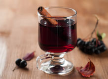 Mulled wine or tea Stock Photo