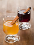 Mulled wine or tea Royalty Free Stock Images
