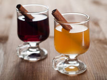 Mulled wine or tea Royalty Free Stock Photos