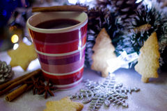 Mulled wine. Royalty Free Stock Images