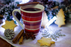 Mulled wine. Royalty Free Stock Image