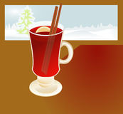 Mulled wine2 Royalty Free Stock Photo