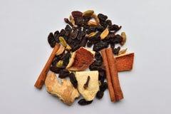 Mulled wineingredienser Royaltyfria Bilder