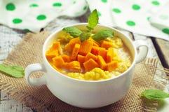Mullet porridge Royalty Free Stock Image