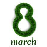 Mullido el 8 de marzo Imagenes de archivo