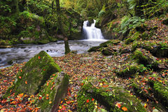 Mullinhassig Wasserfall Lizenzfreie Stockbilder