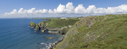 Mullion cove Royalty Free Stock Images