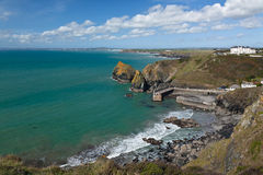 Mullion Cove in Cornwall Royalty Free Stock Images