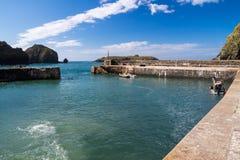 Mullion Cove Cornwall Royalty Free Stock Image