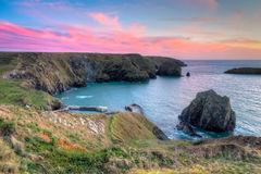 Mullion Cove Cornwall Royalty Free Stock Photos