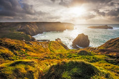 Mullion Cove Cornwall Royalty Free Stock Image