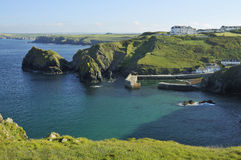Mullion Cove and Harbour Royalty Free Stock Photos