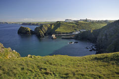Mullion Cove and Harbour Royalty Free Stock Image