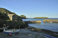 Mullion Cove Harbour Royalty Free Stock Photography