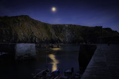 Mullion Cove Harbour Royalty Free Stock Image