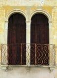 Mullioned window Royalty Free Stock Images