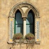 Mullioned window Stock Image