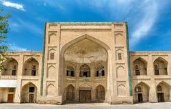 Mullo Tursunjon Madrasah in Bukhara, Uzbekistan Stock Photos