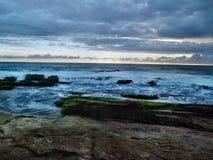 Mulloor Beach at Evening Royalty Free Stock Photo