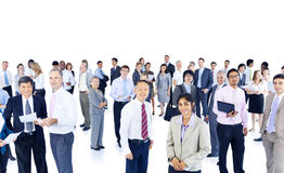 Mullti-ethnic group business person Concept.  Royalty Free Stock Images
