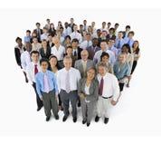 Mullti-ethnisches Gruppen-Geschäft Person Collaboration Concept Lizenzfreie Stockfotos