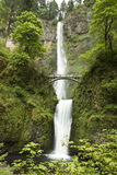 Mulltnomah Falls. Multnomah Falls in Oregon is one of the tallest waterfalls in the United States Stock Image