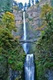 Mulnomah Fälle, Oregon lizenzfreie stockfotos