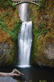 Mulnomah falls. Multnomah fall of Columbia River Gorge, Oregon Stock Image