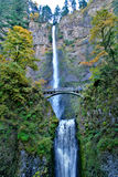Mulnomah Falls, Oregon Royalty Free Stock Photos
