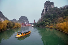 Mulong Lake,Guilin Stock Photos