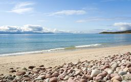 Mulrany Strand, Mayo. Ireland Royalty Free Stock Photo