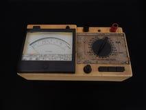 Multímetro analogico Foto de archivo libre de regalías
