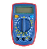 Multímetro digital, instrumento de medição fotografia de stock royalty free