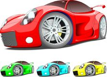 Mult car Royalty Free Stock Images