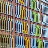 Mult Geschoss-Parkplatz Lizenzfreie Stockfotografie