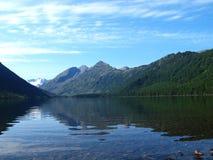 multa горы озера altai 8 нижнее Стоковые Фотографии RF